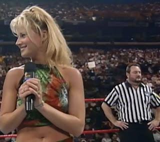 WWE / WWF - Badd Blood: In Your House 18 Review - Sunny is your guest ring announcer for the tag title match