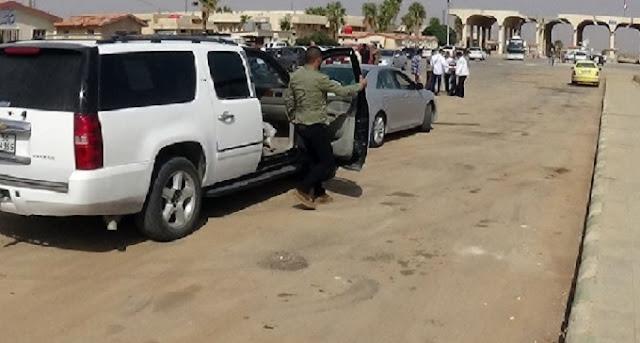 """افتتح معبر""""نصيب-جابر الحدودي"""" مع الأردن وبدء حركة عبور السيارات والأشخاص.فيديو"""