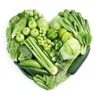 Makanan Hijau Penurun Berat Badan