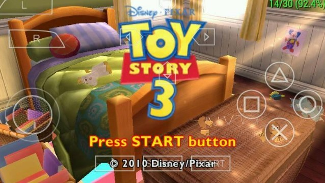 Toy  Story 3 PSP Game Free Download Android