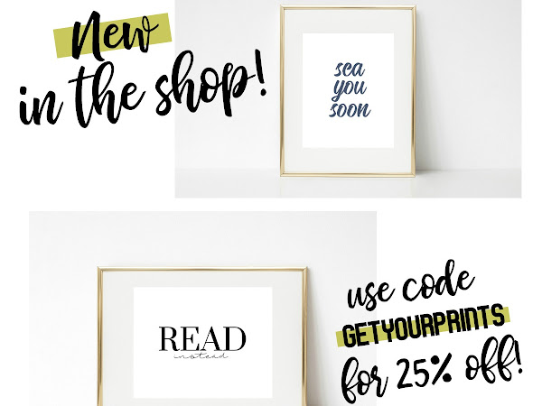 NEW IN THE SHOP + A SALE!
