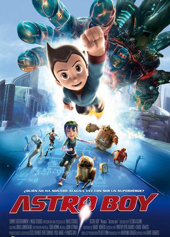 Astro Boy 2009 Brrip 480p Dual Audio Hindi 300mb