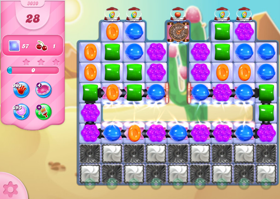 Candy Crush Saga level 3030