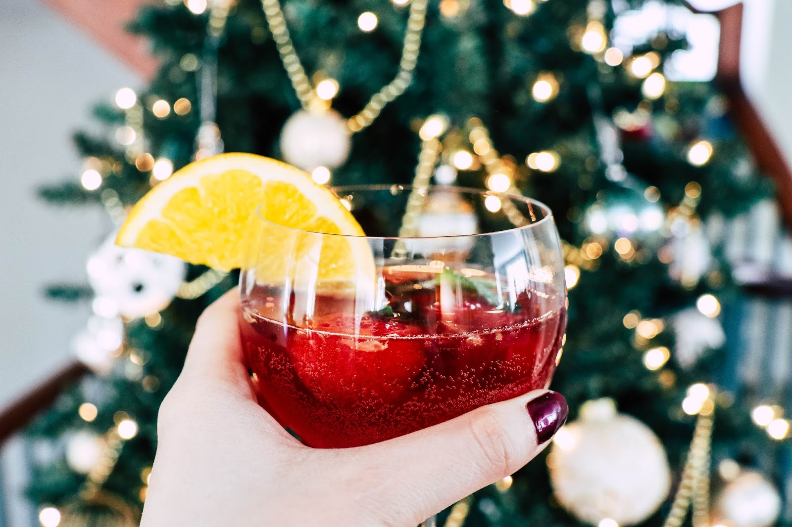 christmas holiday sangria recipe good pomegranate red white