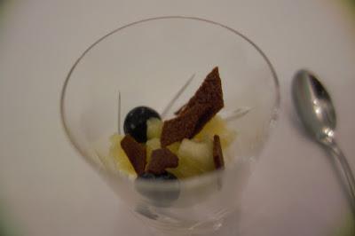 Pré dessert restaurant Nakatani, blog Délices à Paris.
