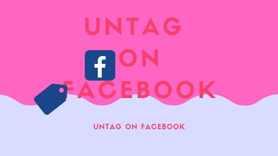 Untag On Facebook