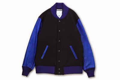BLACK&BLUE [ スタジャン ] ネイビー