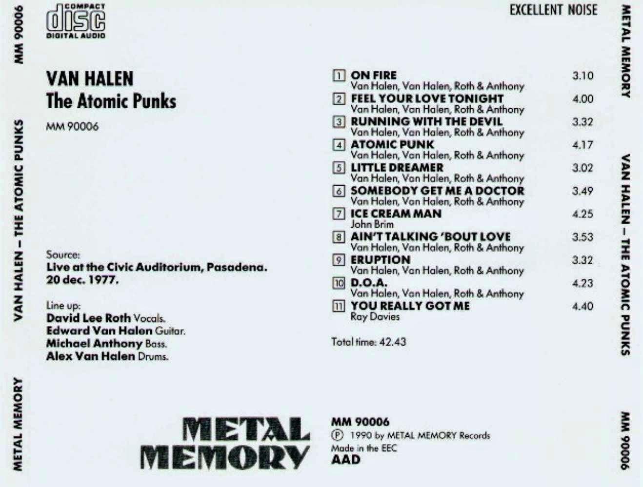 Valvulado Van Halen