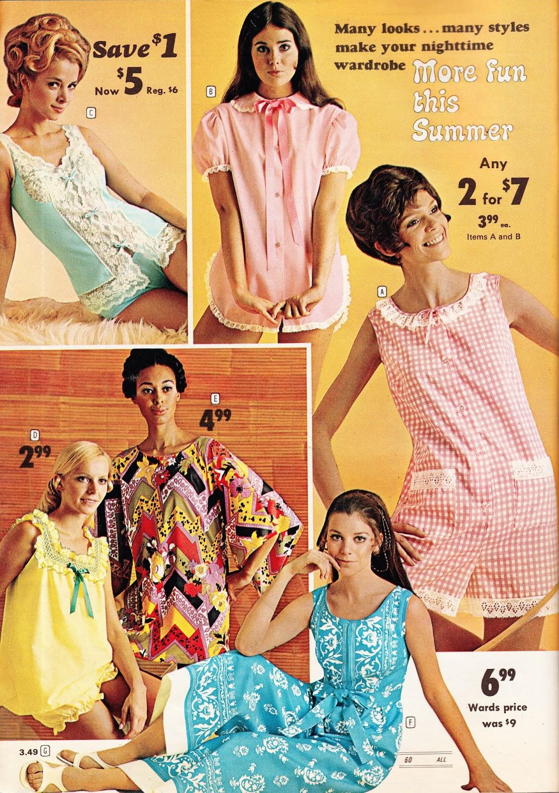 73f4216ea16 Kathy Loghry Blogspot  Sizzlin  Sears Sleepwear!!
