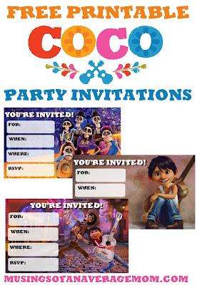 Free coco invitations