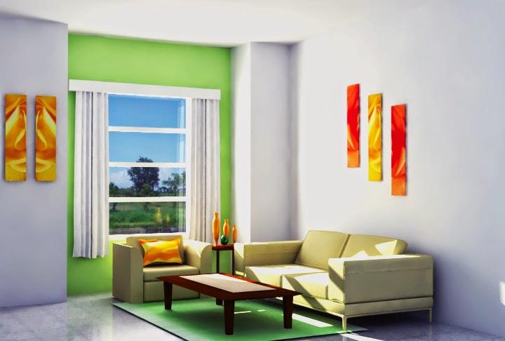 32 contoh desain ruang tamu minimalis ukuran 2x3 indah dan