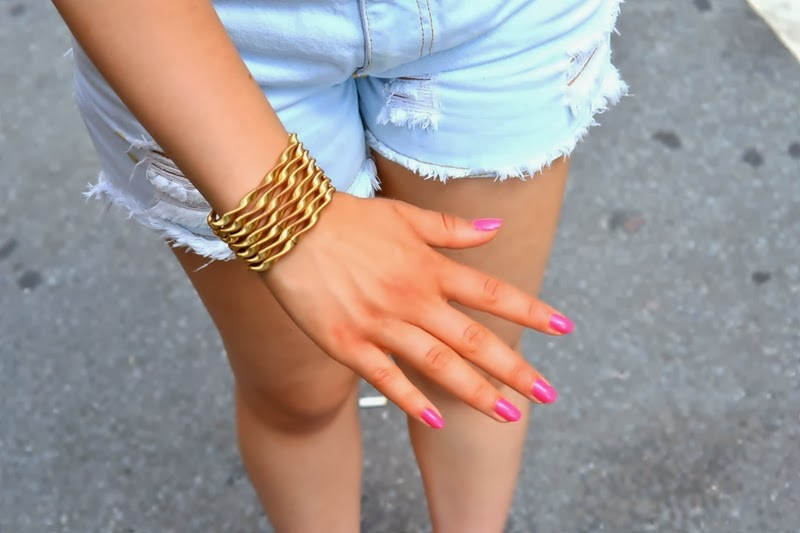 girl new york my berlin fashion pink nails