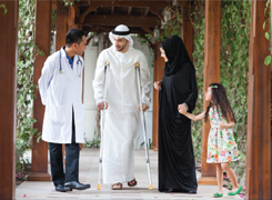 UAE is a major Health Tourism destination.