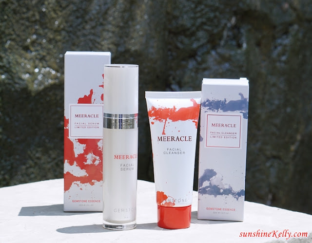 MEERACLE, Brilliance of Gemstones in Skincare Review, MEERACLE Facial Serum, Meeracle Facial Cleanser, Gemstones Skincare, Gemstones Skincare Malaysia, Beauty Review