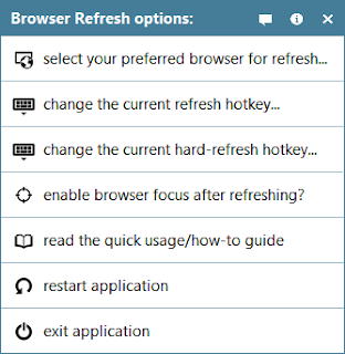 Browser Refresh Portable