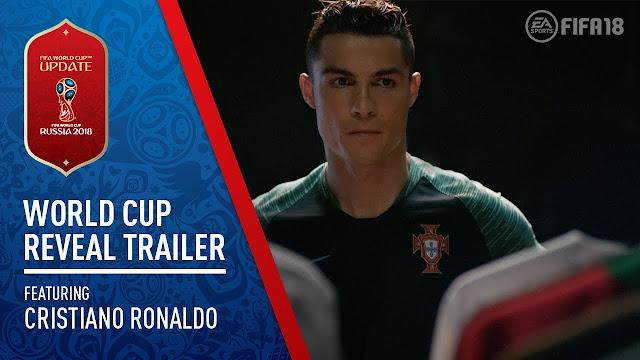 اول فيديو رسمي للإعلان عن نسخة كأس العالم من فيفا 2018