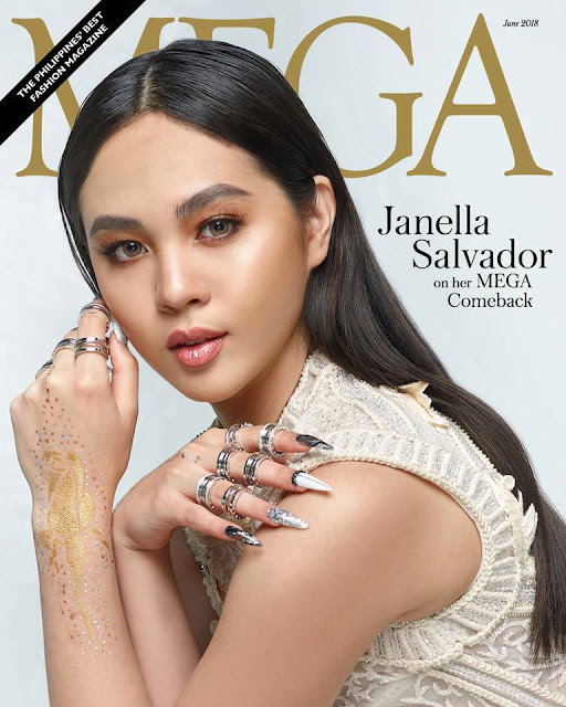 Julia Barretto Janella Salvador Gabbi Garcia MEGA Magazines June 2018 Cover