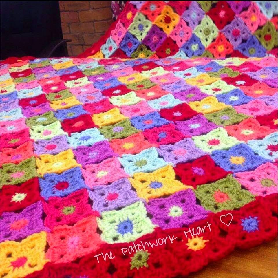Red Flower Blanket