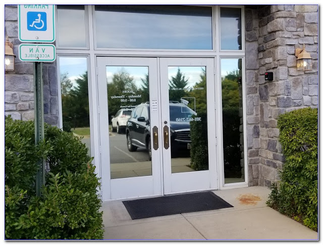 Best Office Door WINDOW TINT Film