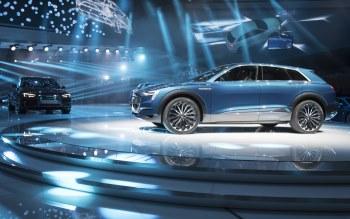 Wallpaper: Audi E-tron Quattro Concept