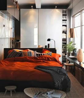 Dormitorio muy pequeño