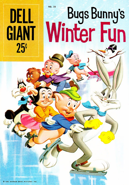 Dell Giant #28 - Bugs Bunny's Winter Fun