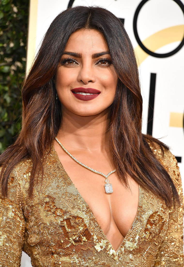 Priyanka Chopra Hot Modern Dress
