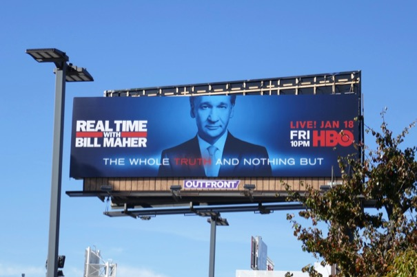 Real Time Bill Maher season 17 billboard
