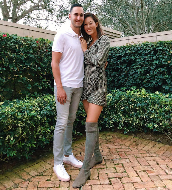 Michelle Wie with boyfriend Jonnie West