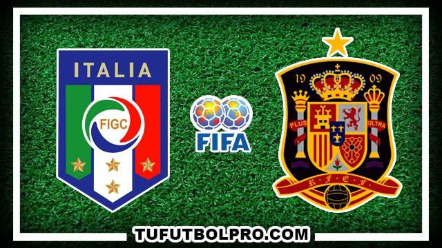 Ver Italia vs España EN VIVO Por Internet Hoy 6 de Octubre 2016