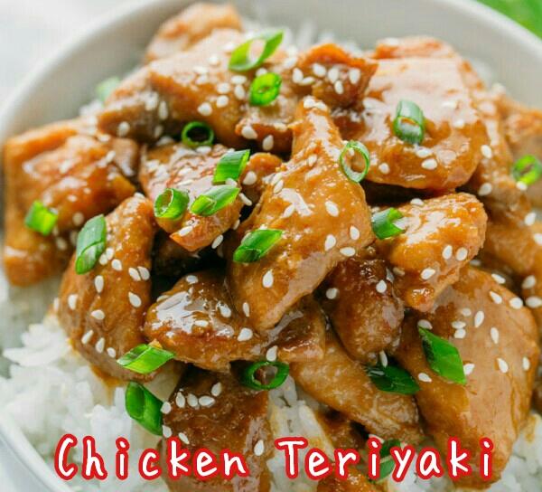 cara membuat chicken teriyaki