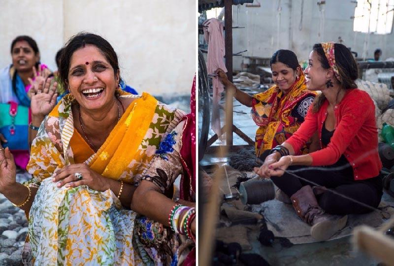 Artigiane indiane che collaborano con Sukhi.it