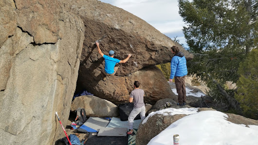 Bouldering the Backwaters-   Montana Bouldering