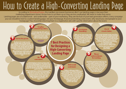 work in progress...how to create a high-converting landing page infographic