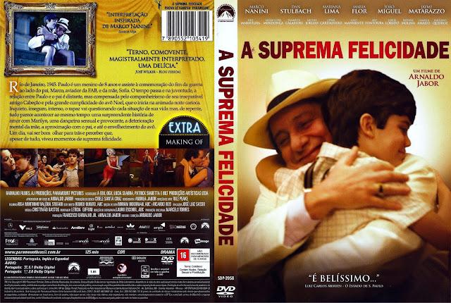 Capa DVD A Suprema Felicidade