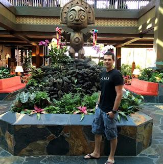 polynesian resort disney new lobby