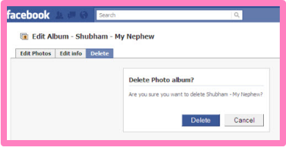 How To Delete Albums On Facebook