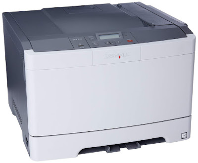 dn perfect for desktop printing inwards color Lexmark C544DN Driver Downloads