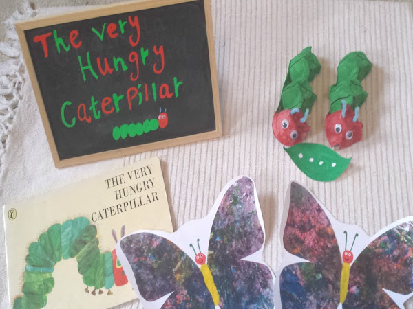 Book Of The Month - The Very Hungry Caterpillar
