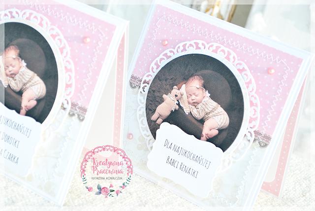 kartka dla dziadków scrapbooking, handmade