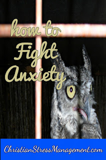 Christian spiritual warfare blog post How to fight anxiety