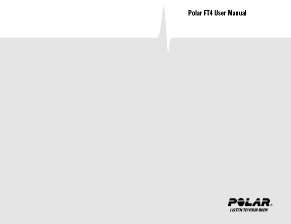 POLAR FT4 Manual User Guide