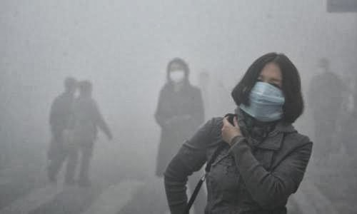 La inhumana contaminación en Harbin, China