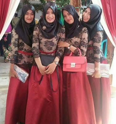 Hijab Acara Pernikahan