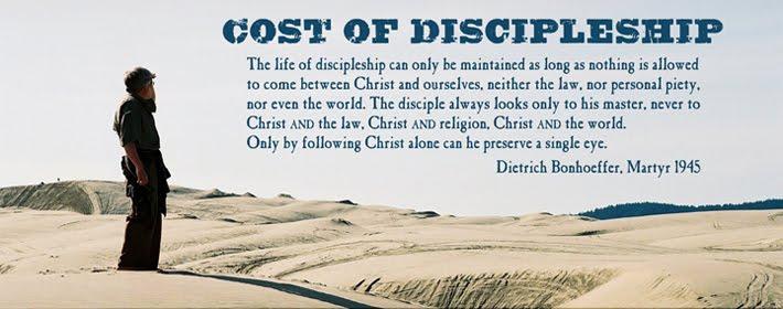 Cost of discipleship bonhoeffer