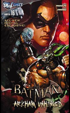 Batman Arkham Unhinged Pdf