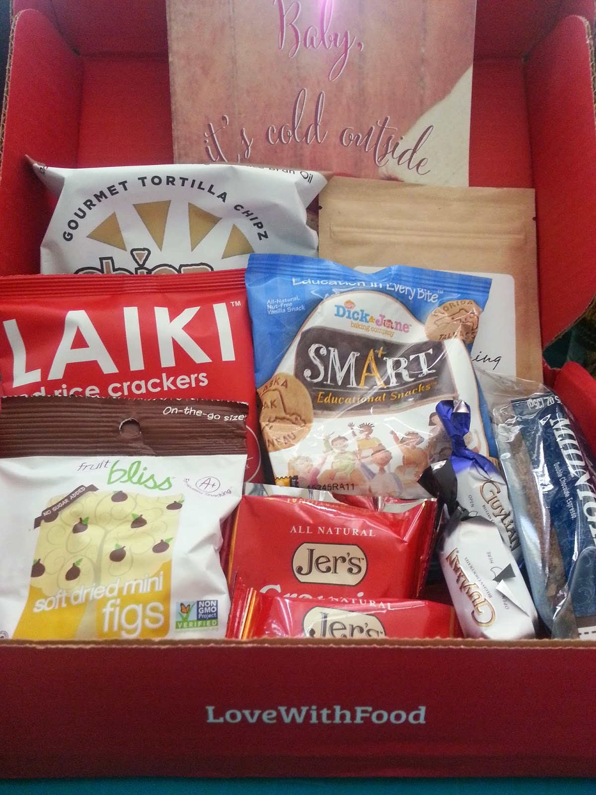 Love with Food box November