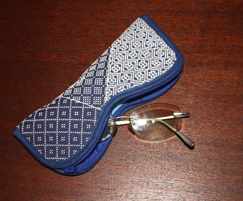 Eyeglasses and Sunglasses case Tutorial & Pattern.