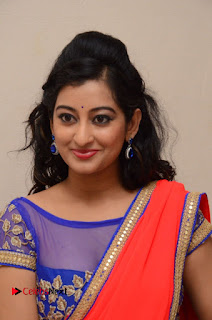 Actress Tejaswini Pictures in Saree at Pratikshanam Audio Launch  0002.JPG