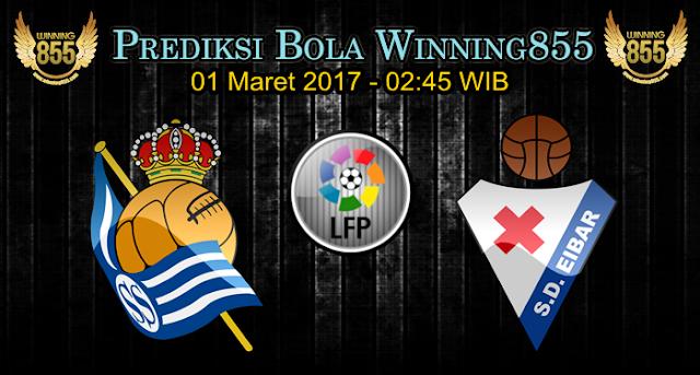 Prediksi Skor Real Sociedad vs Eibar 01 Maret 2017
